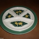 West German Goebel SAVOY Divided Plate Rare Piece 9.25""