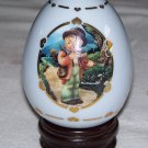 M. J. Hummel - Little Fiddler - Porcelain Egg Collection