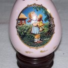 M. J. Hummel - Kiss Me - Porcelain Egg Collection - 1994