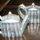 GODINGER SILVER 1993 Vintage Tea Pot napkin holders