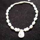 Ivory Necklace with Ivory Pendant