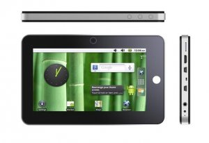 Android 2.2 Samsung PV210 Cortex A8 Capacitive 7 Inch Tablet - Flash 10.1 G-Sensor 1080p HDMI