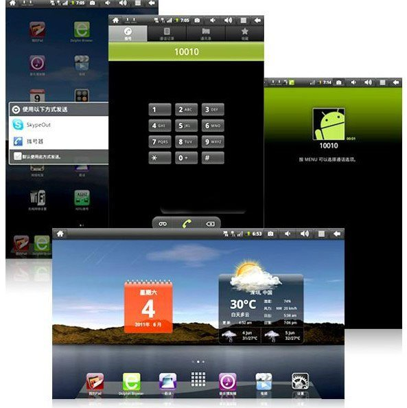 Flytouch 4 Built-in 3G Android 2.2 GPS 4GB Tablet PC
