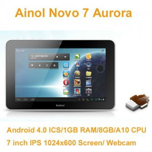 Tablet Ainol Novo 7 Aurora 7 Zoll Android 4.0 Ice Cream Sandwich ICS