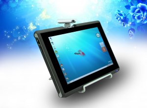 """10.1"""" Capacitive Windows 7  Tablet PC - 1GB DDR2 250GB"""
