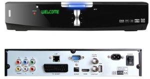 High definition 1080P DVB-S2 satellite receiver supports internet sharing and dongle