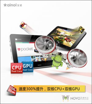 Ainol Novo 7 Aurora � Android 4.0 Tablet PC 7 Inch IPS HD Screen 16GB