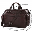 Guarantee Genuine Cow Leather Men's Briefcase Handbag Messenger Bag-7150Q