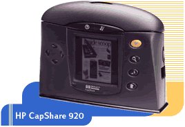 Hewlett Packard C6301C Capshare 920 Hand Held Scanner
