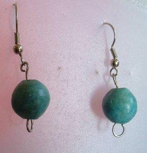 Faux Turquoise Drop Dangle Earrings Jewelry