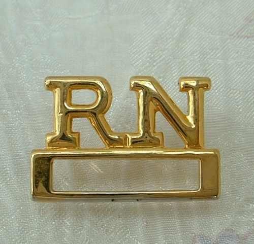 RN Tie Tac Lapel Pin Registered Nurse Jewelry