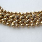 Monet Curb Link Chain Bracelet Vintage Jewelry