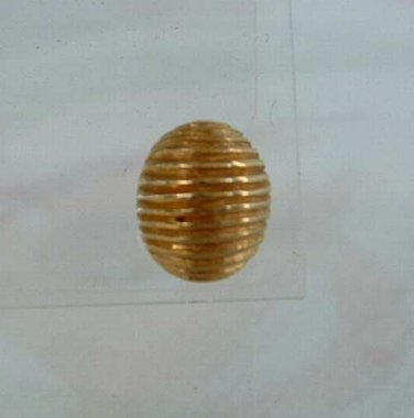 Dior Christian Classic Small Ribbed Tie Tac Lapel Pin Vintage Jewelry