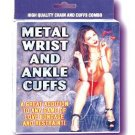 Metal Wrist/Ankle Cuffs