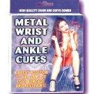 Metal Wrist/Ankle Cuffs