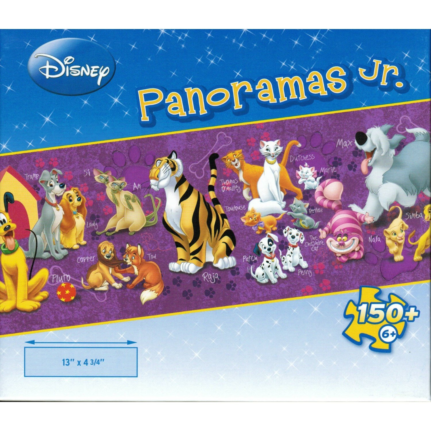 Disney Animals Panoramas Jr. Puzzle