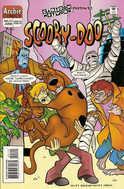Archie Comics Scooby Doo No. 21