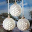 Wonder and Light Pierced Ball Ornament Set