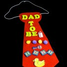 Dad to Be CoEd Baby Shower Tie Corsage FUN and CUTE
