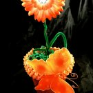 Orange Butterfly Flower Bouquet Baby Shower Birthday Party Favor Decoration Centerpiece Gift
