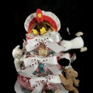 3 Tier Old MacDonald had a Farm Diaper Cake Baby Shower Luxe Neutral Cow Horse Pig Sheep Turkey