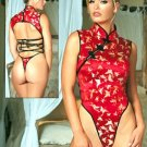 Sexy One Night In Hong Kong Brocade Teddy Sz S/M Code: JRAL9026