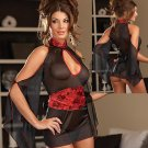 In Fashion Oriental Style Split Sleeve Sexy Match Set Code: JR1305