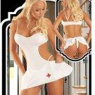 Sexy Open Butt Nurse Outfit-Code: JR1610