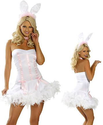 Plus Size Bunny Hop Costume - Sz XXL Code: PL7705