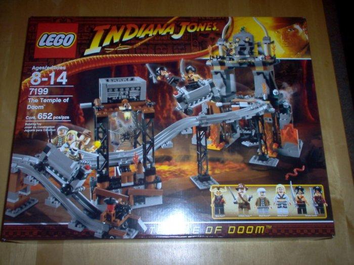 LEGO INDIANA JONES 7199 THE TEMPLE OF DOOM NEW SEALED