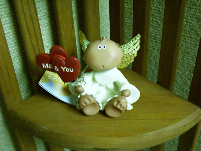 * Russ Berrie Angel Cheeks - Valentine Me & You Heart - FREE USA SHIPPING!