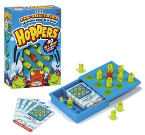 Hoppers Logical Solitaire Strategy Game by Thinkfun - FREE USA SHIPPING!