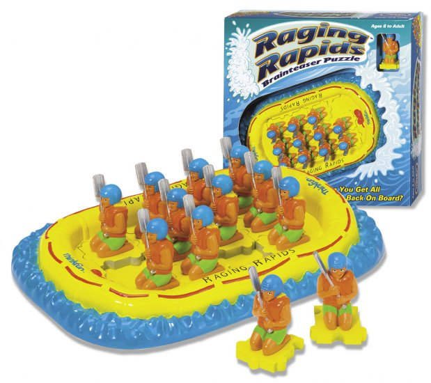 Raging Rapids Brainteaser Game by Thinkfun FREE USA SHIPPING!