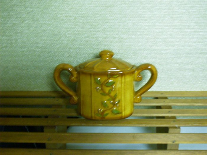 Russ Berrie Harvest Home Collection - Sugar Bowl - FREE USA SHIPPING!!!
