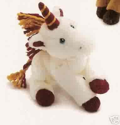 Russ Berrie Winter Pals - Plush Unicorn FREE USA SHIPPING!!!