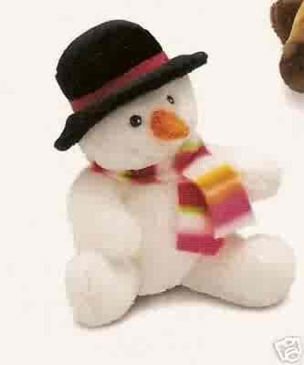 Russ Berrie Winter Pals - Plush Snowman  FREE USA SHIPPING!!!