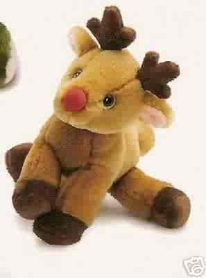 Russ Berrie Winter Pals - Plush Reindeer  FREE USA SHIPPING!