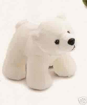 Russ Berrie Winter Pals - Plush Polar Bear  FREE USA SHIPPING!