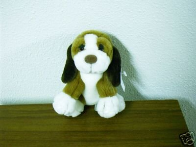 Russ Berrie Best of Luv Pets - 1982 - Plush Baxter Puppy FREE USA SHIPPING