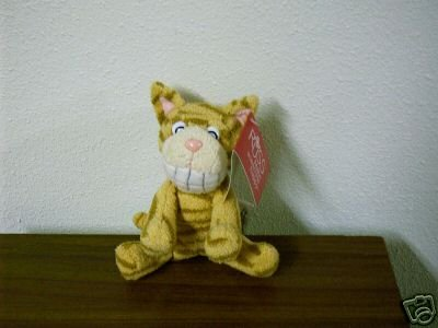 Russ Berrie Luv Pets - Grinnies - Plush Tabby Cat FREE USA SHIPPING