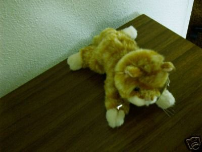 Russ Berrie Best of Luv Pets - 1999 - Plush Sweet Pea Orange Kitty Cat FREE USA SHIPPING