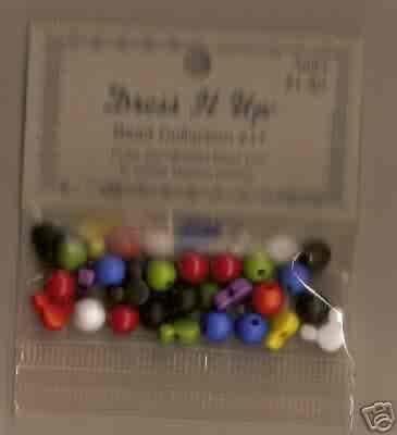 Dress it Up Bead Collection #17 - Mouse Ears - FREE USA SHIPPING!!