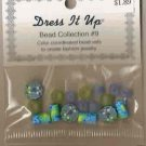 Dress It Up Bead Collection #9 - Floral Fimo Mushroom FREE USA SHIPPING!!