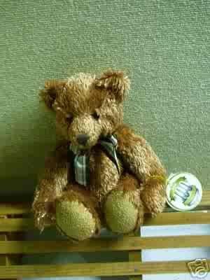 Russ Berrie 100th Anniversary Teddy Bear - Peony  FREE USA SHIPPING!