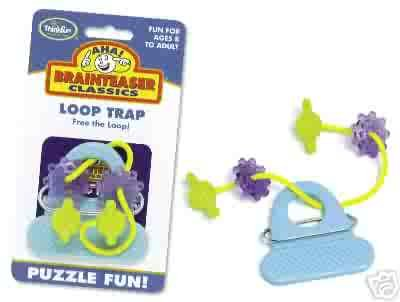 Aha! Loop Trap Brainteaser Puzzle by Thinkfun FREE USA SHIPPING!!!
