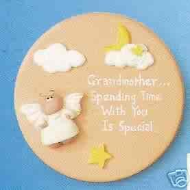 Angel Cheeks Plaque - Grandmother Special Time FREE USA SHIPPING!!!