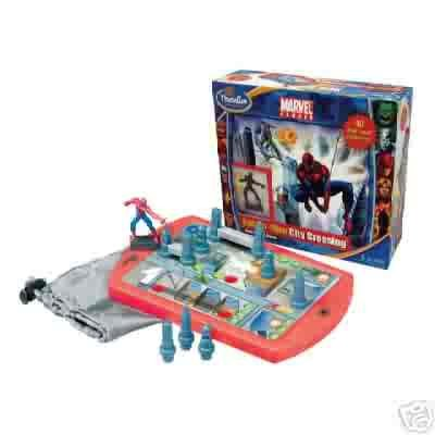 Spiderman City Crossing Solitaire Brainteaser Game by Thinkfun  FREE USA SHIPPING!