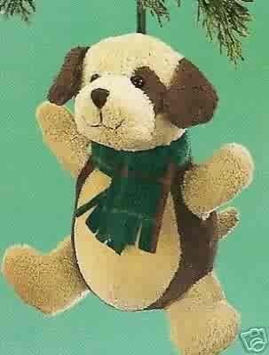 Russ Berrie Winter Barnyard Buddies Puppy