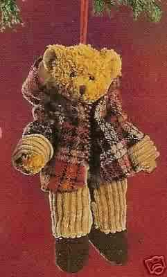 Russ Berrie Alpine Bears  Teddy Bear with Hooded Jacket FREE USA SHIPPING!!