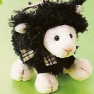 Russ Berrie Easter - Woolsen Lamb Backpack Clip - Black FREE USA SHIPPING!